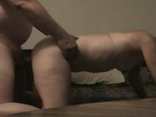 I just love banging my slut like this, she loves doggy, anyone want to try her out????