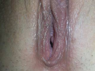 I waant to fill her full of my cock and then watch my cum drip out and down her ass.