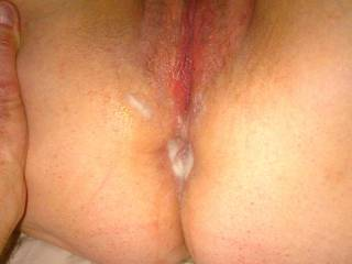 Sub wife is my girlfriend.  When she doesn\'t stay over I send cuck hubby a pic.  He\'ll eat my cum from his wife when she gets home & jerk off to her dried, used panties ...