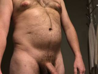 chest and dick