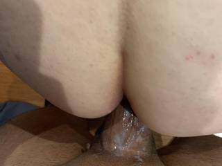 Creamy cock Deep in my pussy