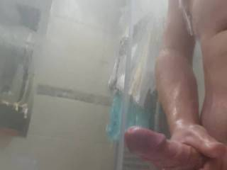 Got a bit carried away after washing my cock