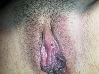 her big sexy lips and clit are mouth watering