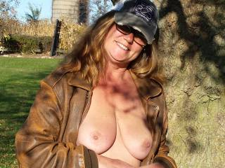 My husband thinks I look sexy wearing a hat -I don\'t -what do you think :)
