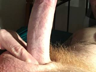 Do you like my big red hairy cock ?  Tell me what you think ;)