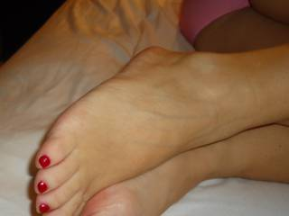 Sexy Feet on the Wife