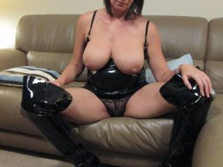 What turns you on more, sexy boots or big boobs?