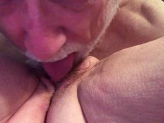 I still enjoy tasting my wife's sweet pussy.
