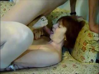 Her husbands camera view of his wife and I masturbating together for him