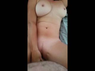 part one of a big fuck session i had been away for 2 weeks with work, gf had been horny all day we have split the video into 6 short videos all different positions!!