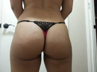 nice ass, wanna give it a smack to get your undies juicy and then remove them with my teeth