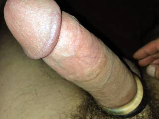 playing around with a cock ring