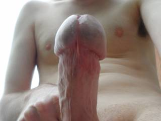 Nice thick head on that hot cock