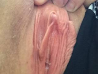 mm, love to flip your clit with my tongue, and lick the juices up