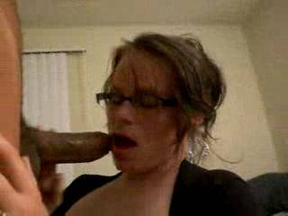 amateur wife sucking thick black cock