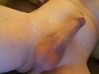 Shaved my pubic hair and balls and took a pic when was really horny..
