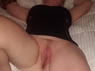 Her boss stopped before she came this time. She is about to get his cock in her for the first time.After she begs him for it. I had been in Afghanistan for a year and she wanted to fuck.