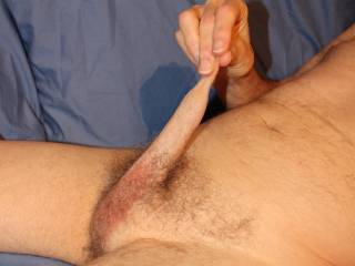 I wonder why i keep capturing myself stretching my foreskin, it certainly doesn\'t add any length.