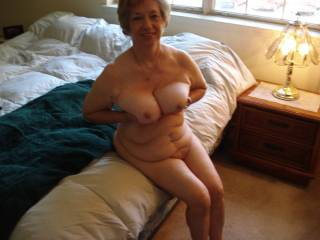 love stroking my long cock to your beautiful mature tits maam