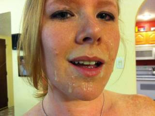 """Was that you sucking him or just masterbating to give you a facial? i dont blame him for blowing early...the first time ;) (thats why i like multiple pops)...then i would have had you suck me back hard if more fun was available to the """"stranger"""" ;)"""