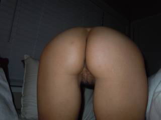 Awesome looking ass and a very inviting pussy! That's a perfect combination for a doggy fuck!