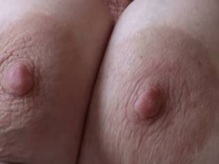 No her nipples don't look good, they look great wish I could help you suck on them!!!..