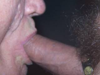sucking a friends nice thick cock