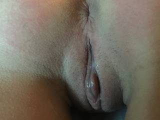 would love to fill you too in both holes...the difference? you'd be stretched and your pussy lips would be together to stop my cum from dripping off your well used pussy