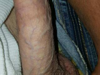 My husband's thick dick