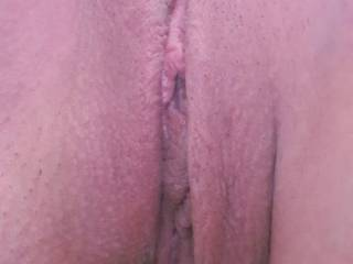 My girls beautiful pussy waiting for me to make it wet