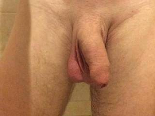 Floppy dick needs a licking...