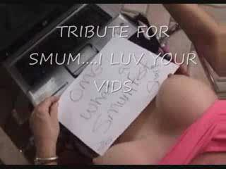 Mmm Shari... thanks for the tribute.... and for all the sexy vids and pics you send me. I love having you as my cumdoll and I think I'm about to play with you now. S x
