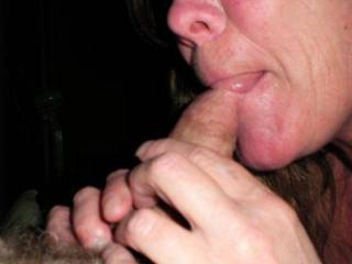 You look so hot with a cock in your mouth I sure wish it was mine