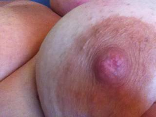 My nipple looks a little bit lonely here, doesn\'t it?