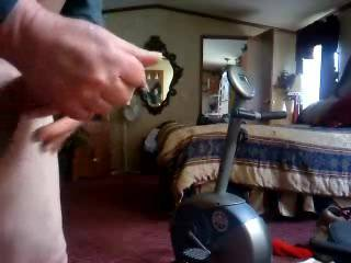 My ex wanted me not to fuck one night and said save it up for morning because I carry a big load. The next morning she made this video. I came twice - she says I cum a lot!
