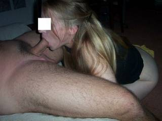 Looks like she knows how to really devour a real cock