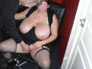 luv her delicious tits...  wanna cum over they like a tribute ? please say yes