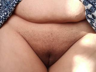 Showing my pussy - what will you do to it?