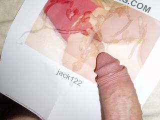 Oh my instant wet pussy, seeing your big awesome cock and all that cum all over my pussy. I love it, made my pussy all wet and horny mmmmmmmm thank you
