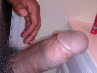 I would love to see it, feel it, lick it, suck it, stick up my asshole, and put it balls deep inside my tight wet pink pussy!!