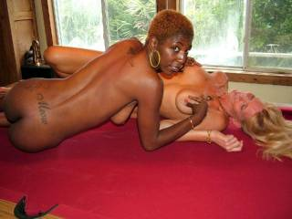 one of the few freaky black women I get to play with