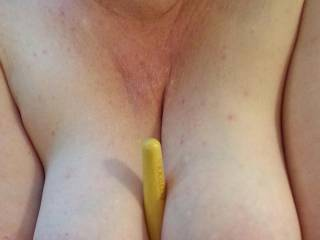 Goofing around with a makeup brush... wishing it were a big throbbing cock...