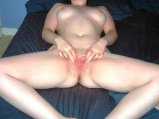 Oh man! You're definitely a super hot slut that I'd love to slide right into! Are you game for me and a few of the boys?