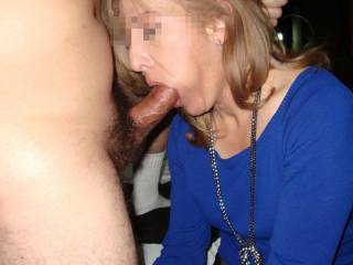 Ira, 57 another mature slut being mouth fucked, like the slut she is...do you want to play with her also?