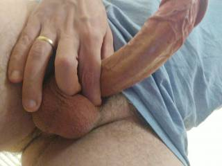 My big veiny cock, what do you think?