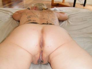 Mmmmm, love to clean you up and then fill you up and clean you up again with my wife's help!!  YUMMY!!