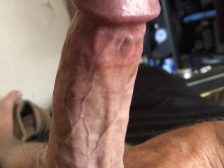 "One hard ""Cock-stick"" anybody who can Deep throat this, apply within!!"