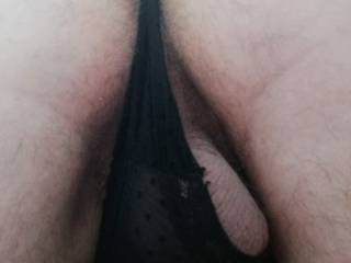 Back view of my thong