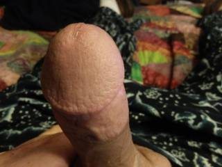 I\'m Soo ready to start the adventure of cumming. A drop of nice precum starting to show