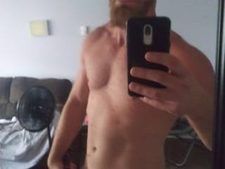 Selfie of me naked